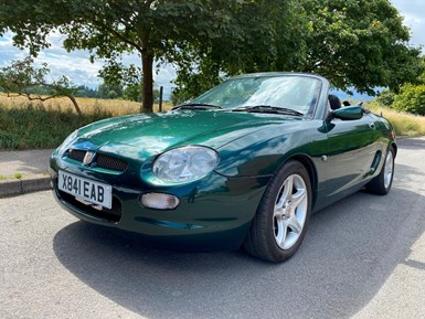 MG MGF 1.8i Convertible 2dr - MOT DECEMBER 2021!