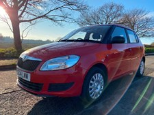 Skoda Fabia 1.2 12v (60ps) S Hatchback 5dr - VERY LOW MILEAGE